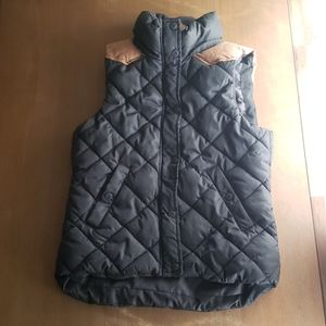 H&M L.O.G.G puffer vest womens size 6
